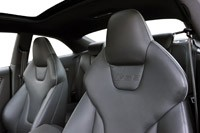 2013 Audi RS5 front seats