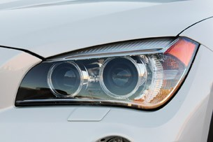 2013 BMW X1 headlight