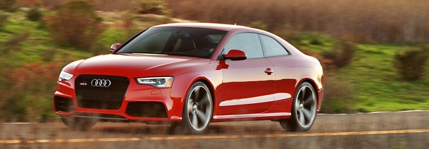 2013 Audi RS5 driving