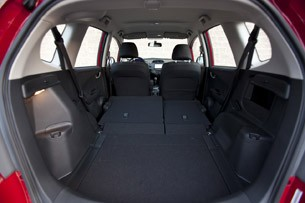 2013 Honda Fit Sport rear cargo area