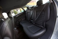 2013 Ford Fusion Hybrid rear seats