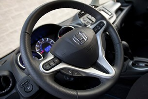2013 Honda Fit Sport steering wheel