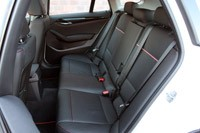 2013 BMW X1 rear seats