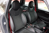 2013 Mini John Cooper Works GP front seats