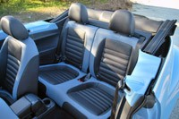2013 Volkswagen Beetle Turbo Convertible rear seats