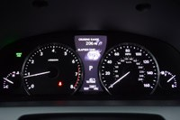 2013 Lexus LS460 F-Sport AWD gauges