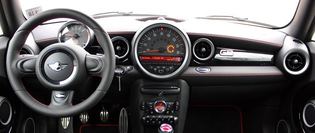 2013 Mini John Cooper Works GP interior