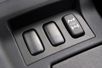 2013 Mitsubishi Lancer Evolution X GSR AWC button