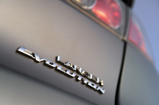 2013 Mitsubishi Lancer Evolution X GSR badge