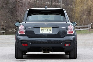2013 Mini John Cooper Works GP rear view