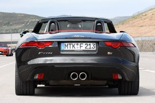 2014 Jaguar F-Type rear view