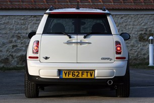 2014 Mini Cooper Clubvan rear view