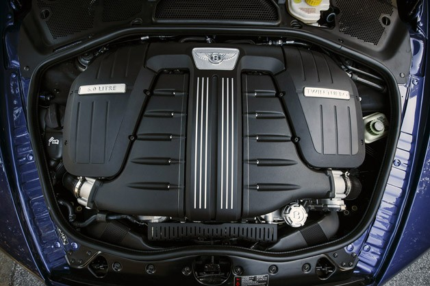 2013 Bentley Continental GT Speed Convertible engine