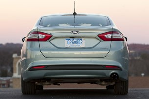 2013 Ford Fusion Hybrid rear view