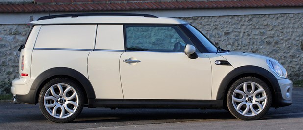 2014 Mini Cooper Clubvan side view