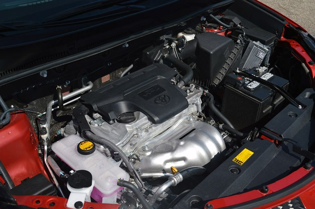2013 Toyota RAV4 engine