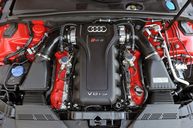 2013 Audi RS5 engine
