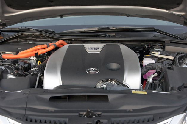 2013 Lexus GS450h engine