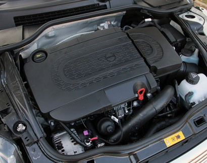 2014 Mini Cooper Clubvan engine