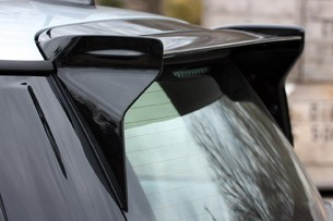 2013 Mini John Cooper Works GP roof spoiler
