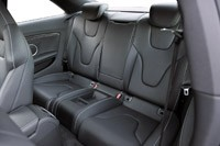 2013 Audi RS5 rear seats