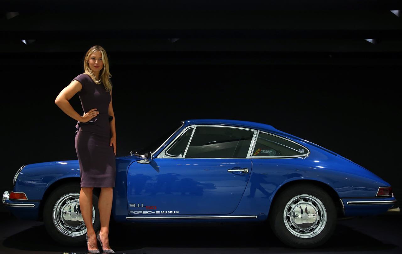 Porsche Picks Maria Sharapova As Brand Ambassador Autoblog