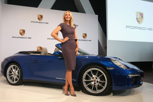 Porsche picks Maria Sharapova as code ambassador