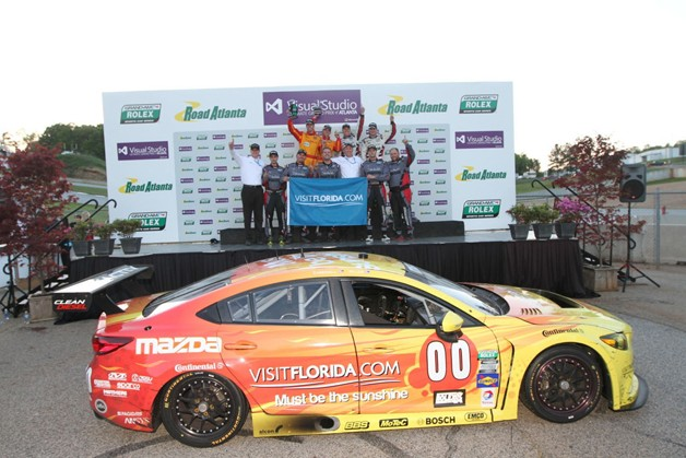 Mazda6 Skyactiv-D racecar gets initial win during Road Atlanta