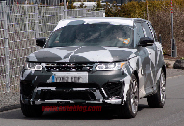 Range Rover Sport R Spy Shots