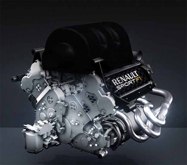 Renault's 2014 Formula One engine - standalone view