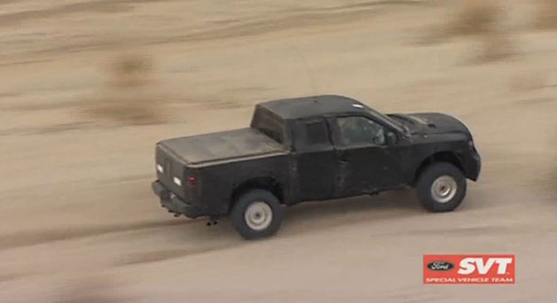 Image: Ford F-150 SVT Raptor Test Mule