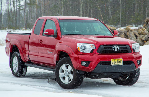 2013 Toyota Tacoma TRD Sport - front three-quarter view