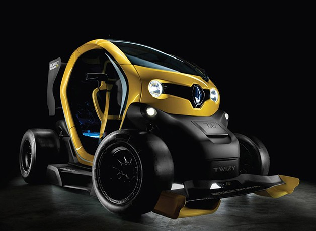 Twizy Renault Sport F1 concept - front three-quarter view