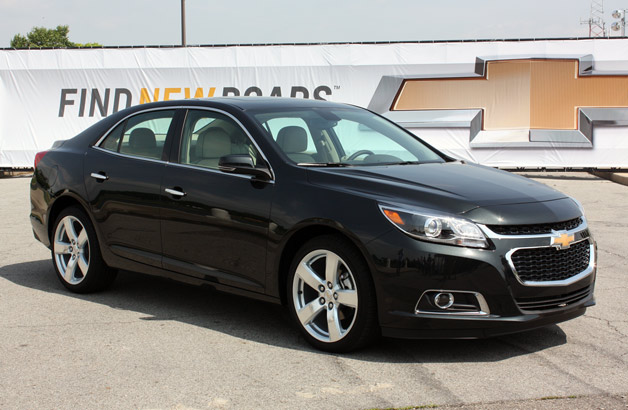 2014 Chevy Malibu - front three-quarter view