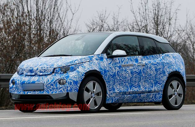BMW i3 spy shot