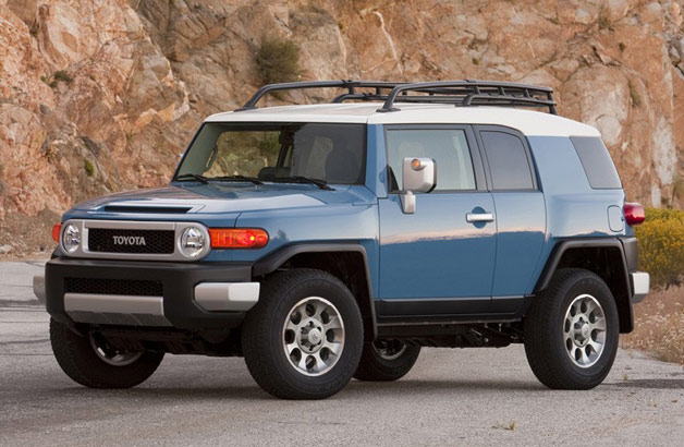 Toyota recalling FJ Cruiser due to excessively splendid headlights