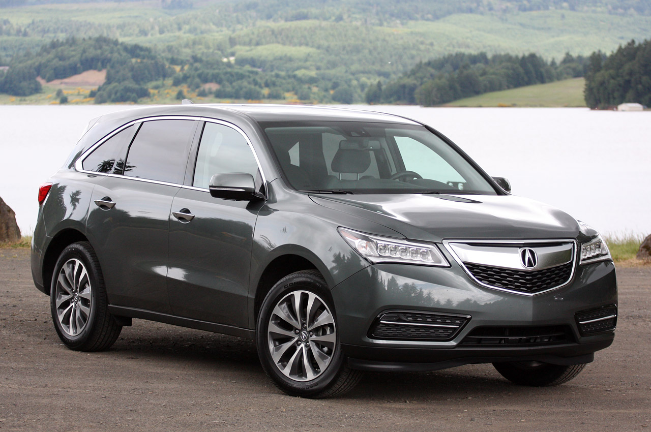 2014 Acura Mdx W Video Autoblog