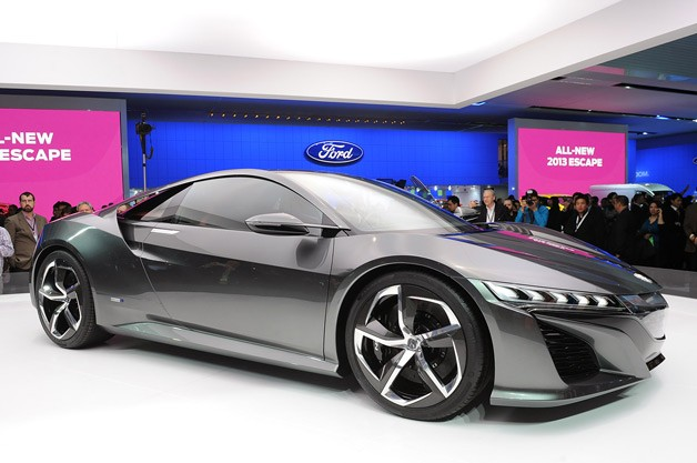 Acura NSX to be built in Ohio in 2015