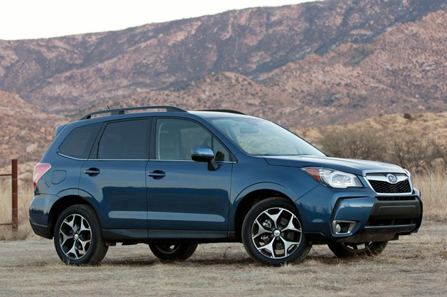 2015 Subaru Forester Blue