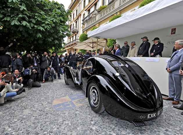 2013 Concorso d'Eleganza Villa d'Este dominated by Ralph Lauren's Bugatti [w/video] - Autoblog