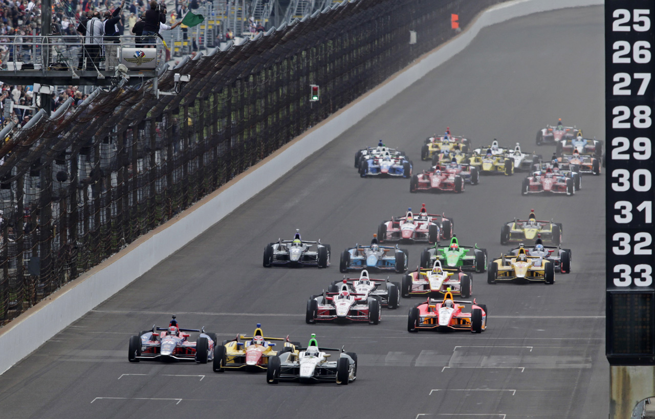 Race Recap: 2013 Indianapolis 500 better than Bollywood ...