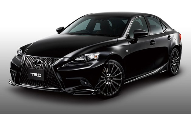 2014 Lexus IS gets TRD bits