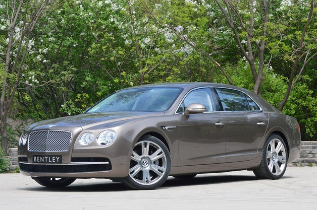 2014 Bentley Flying Spur - front three-quarter view