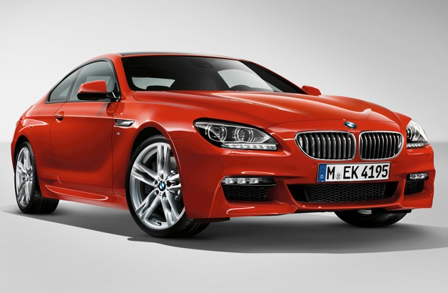 2014 BMW 6 Series with M Sport package - front three-quarter view
