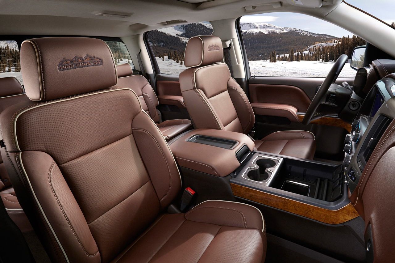 2014 Chevy Silverado High Country Interior