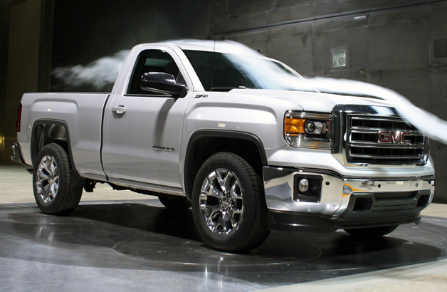the lineup of 2014 gmc sierra and 2014 chevrolet silverado trucks