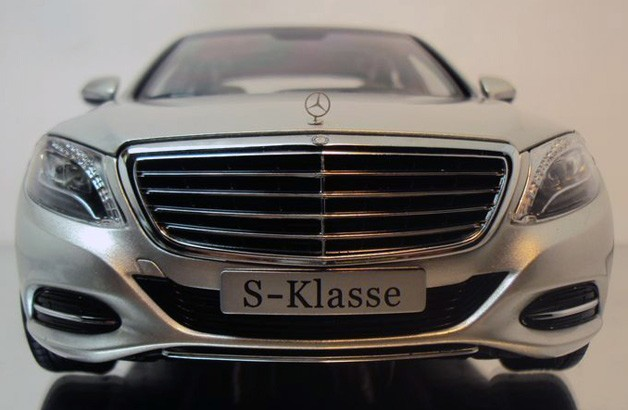 2014 Mercedes-Benz S-Class revealed again in 1:18 scale