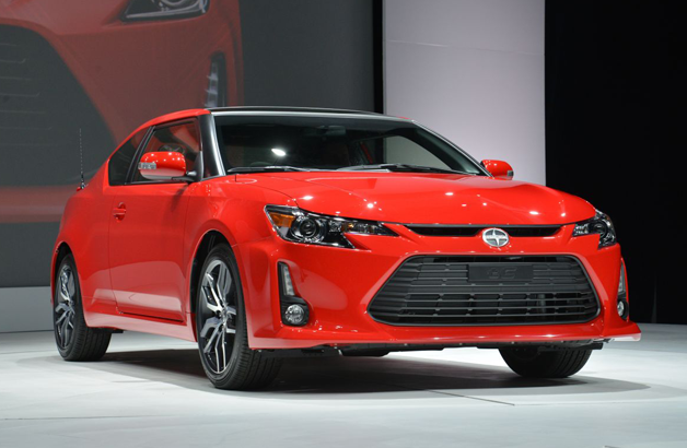 2014 Scion tC with updated styling priced from $19,210*
