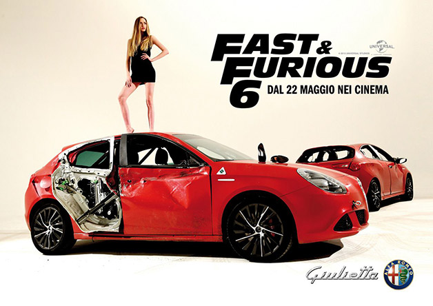 Alfa Romeo Guilietta to star in Fast & Furious 6 [w/video]