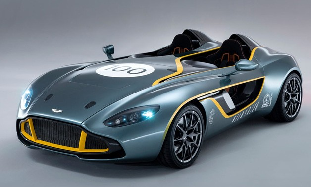 Aston Martin CC100 Speedster Concept - front three-quarter view